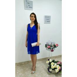 Vestido Abeja Corto Donna Color Azul Electrico