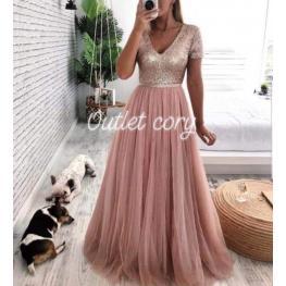 Vestido  Agatha Color Rosa