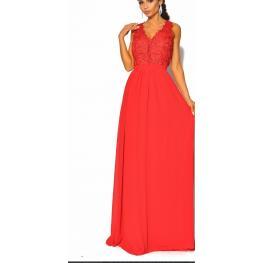 Vestido Arabia Color Rojo
