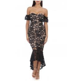 Vestido de Fiesta Diana Color Negro