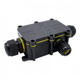 Caja Estanca Ip68 Con 3 Conectores 0.5 Mm² – 2.5 Mm²