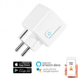 Enchufe Wifi Inteligente Smarthome 16A Compatible Con Google Home y Alexa