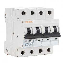 Interruptor Automático Residencial 4P 32A Curva C 6Ka