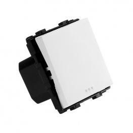 Interruptor Empotrable Simple Blanco
