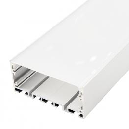 Perfil de Aluminio Santmig 12V/24V/220V 2 Metros – Opcional Colgante