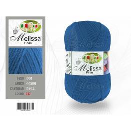 Lana Fina 17 Color Azul