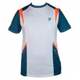 Camiseta Drop Shot Vector Jmd Blanco