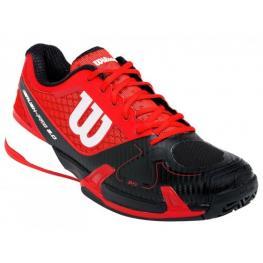 Wilson Rush Pro 2.0 Clay Court Rojo/negro