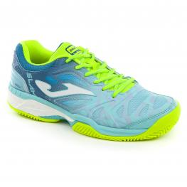 Zapatilla Joma T.Slam  Lady 805 Turquesa Clay