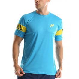 Camiseta Bullpadel Chumber Azul Cyan