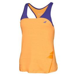 Camiseta Babolat Tirantes Tank Racerback Naranja