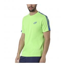 Camiseta Bullpadel Costibi Verde Fluor