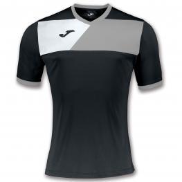 Camiseta Joma Crew II Negro Gris