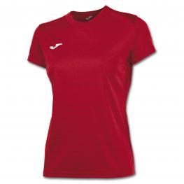 Camiseta Joma Campus II Rojo M/c