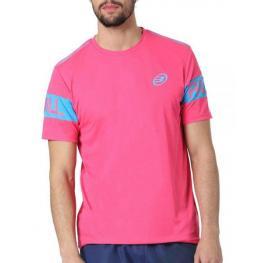 Camiseta Bullpadel Chumber Fucsia