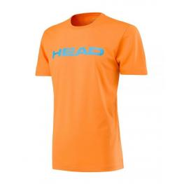 Camiseta Head Ivan Men Naranja Azul Claro