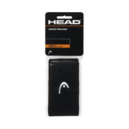 Head Muñequera Antracita. Pack 2 Uds