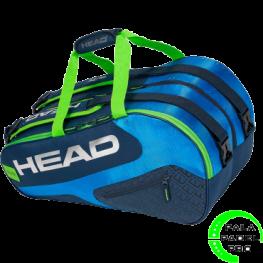 Paletero Head Elite Padel Supercombi Azul Verde