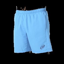 Pantalon Corto Bullpadel Cinerar Azul Cyan