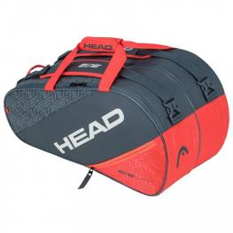 Paletero Head Elite Padel Supercombi Grey/orange