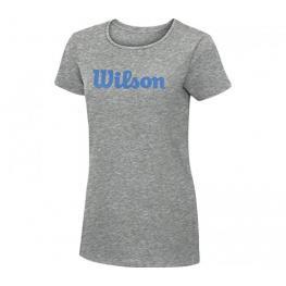 Camiseta Wilson Script Cotton Gris