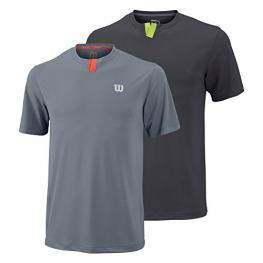 Camiseta Wilson Su Henley Gris
