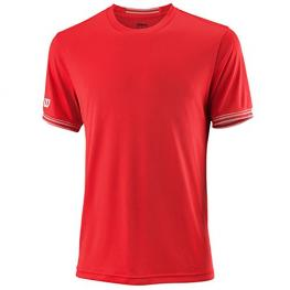 Camiseta Wilson M Team Solid Crew Red