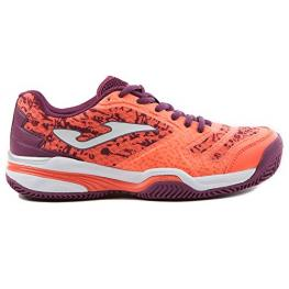 Zapatillas Joma T.Slam  Lady Coral 707 Fluor Clay