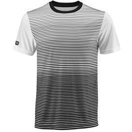 Camiseta Wilson M Team Striped Crew Black