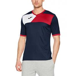 Camiseta Joma Crew II Marino Rojo