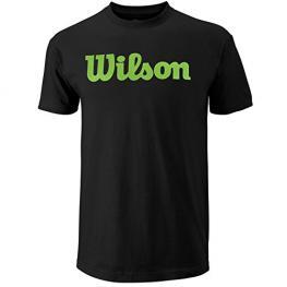 Camiseta Wilson Script Cotton Tee Black
