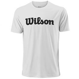 Camiseta Wilson Uwii Script Tech Tee White