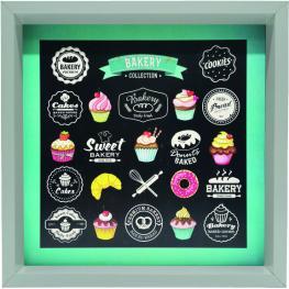 Cuadro 30X30 6001 Bakery