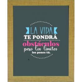 Cuadro 20X25 6000 Frases Color