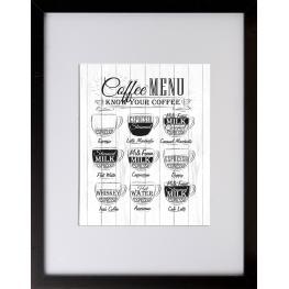Cuadro 30X40 6000 Café