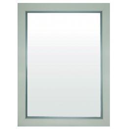 Espejo 40X50 7300 Bco/plata