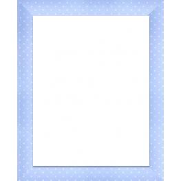 Espejo 30X30 3031 Azul