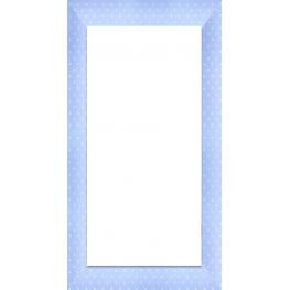 Espejo 30X120 3031 Azul