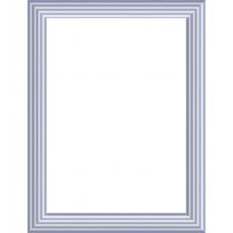 Espejo 40X50 3032 Azul