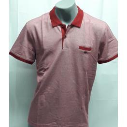 Polo Rojo (7-Xxxl)100%algodon