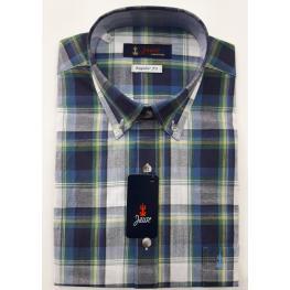 Camisa Cuadros (4)55%algodon45%poliester