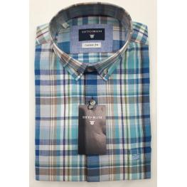 Camisa Cuadros (5) 100%algodon