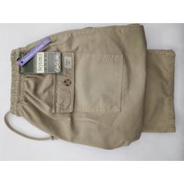 Pantalon de Gomas En la Cintura (46) 100%algodon