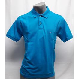 Polo Azul Turquesa (Xxl) 100%algodon