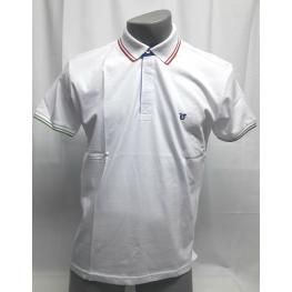 Polo Blanco (Xxl) 100%algodon