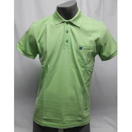 Polo Verde (M) 100% Algodon