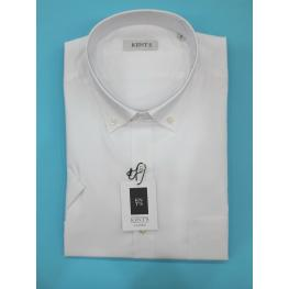 Camisa Blanca (5) 80% Poliester 20% Algodon