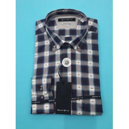 Camisa Cuadros (100% Algodon )
