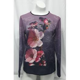 Camiseta Flor (100% Poliester )