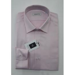 Camisa Rosa ( 80% Algodon 20% Poliester )